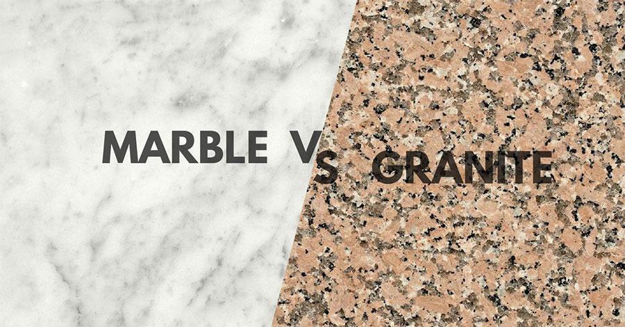 Marblevsgranite