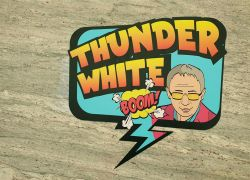 min thunder white pop